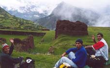 Enjoying Small Cusco With Friends